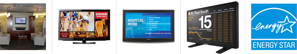 Digital Signage, Digital Displays,  Electronic Message Boards, Flat Panel Display Monitors