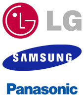 Flat Panel Screens for Video Conferencing and Telepresence: LG,